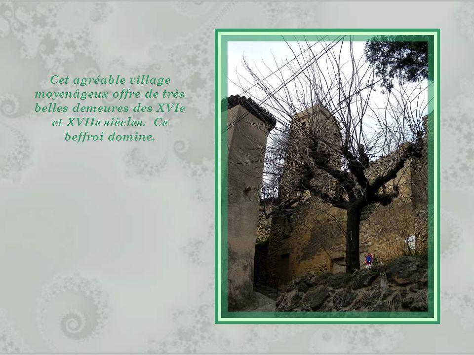 Cet agréable village moyenâgeux offre de très belles demeures des XVIe et XVIIe siècles.