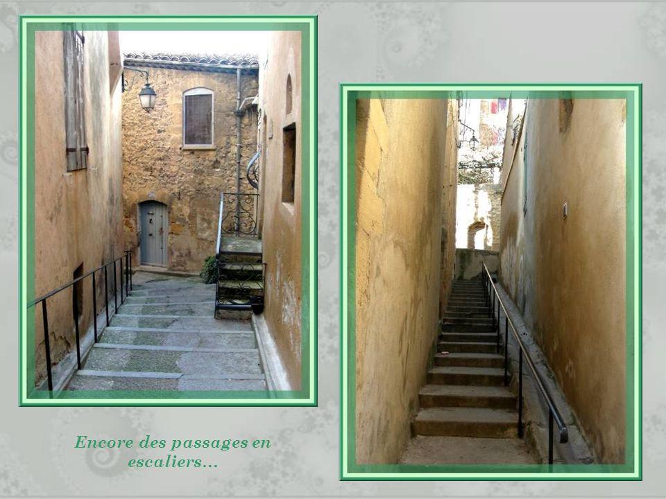 Encore des passages en escaliers…