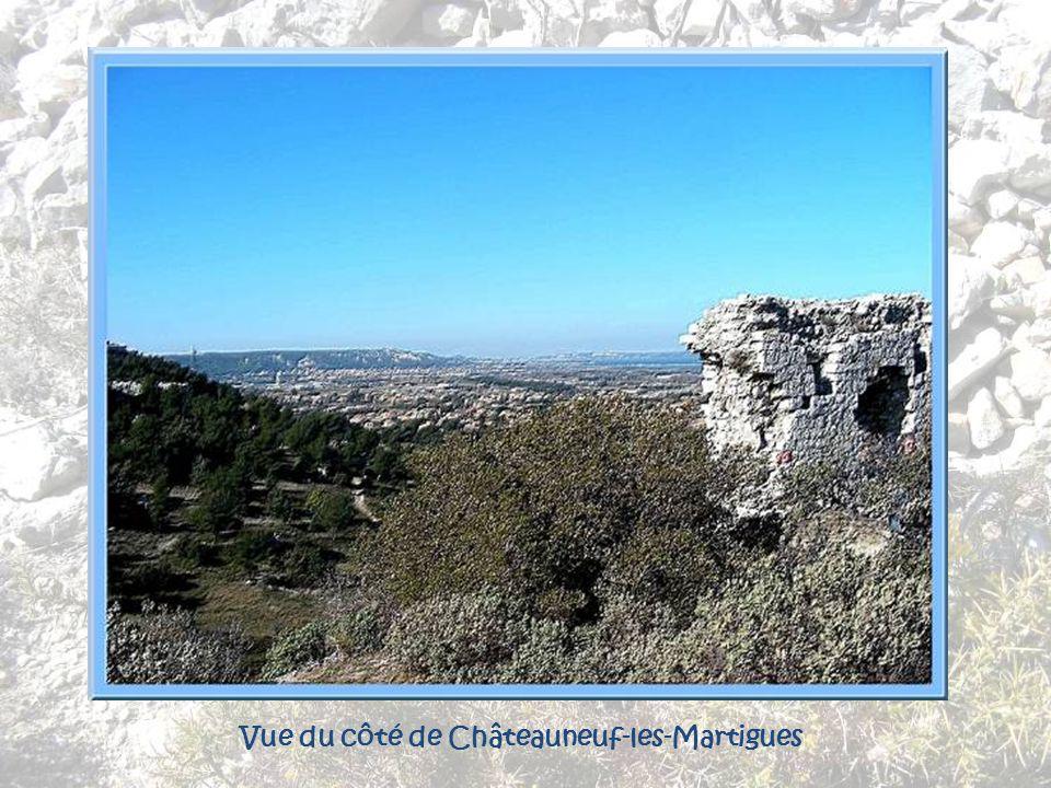 Vue du côté de Châteauneuf-les-Martigues