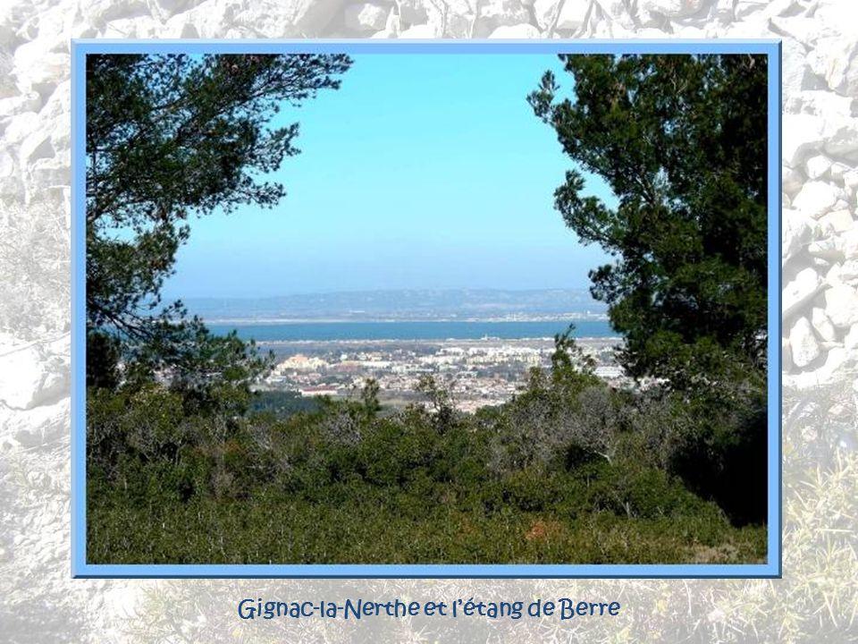 Gignac-la-Nerthe et l'étang de Berre