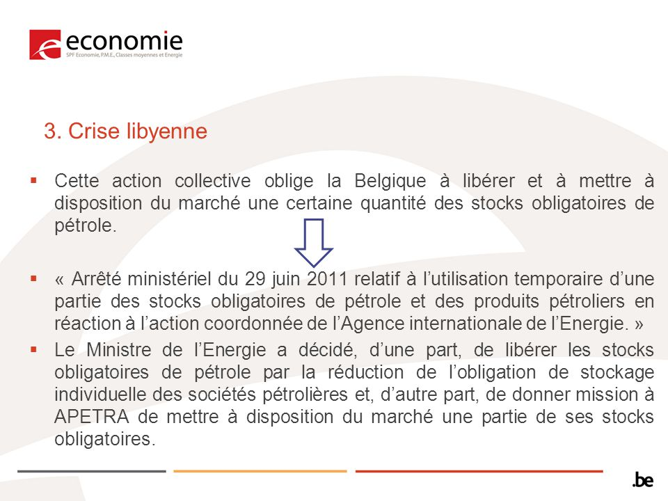 3. Crise libyenne
