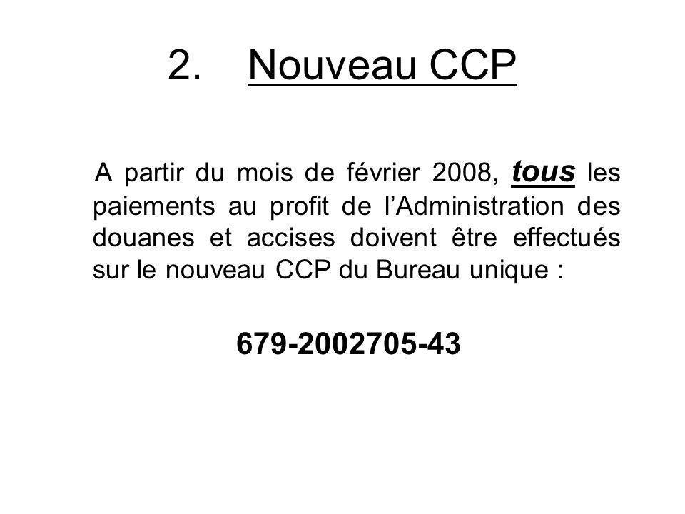 2. Nouveau CCP