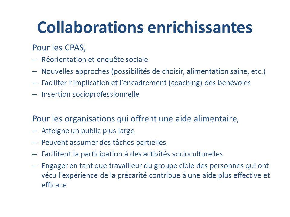 Collaborations enrichissantes