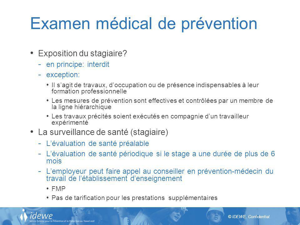 Examen médical de prévention