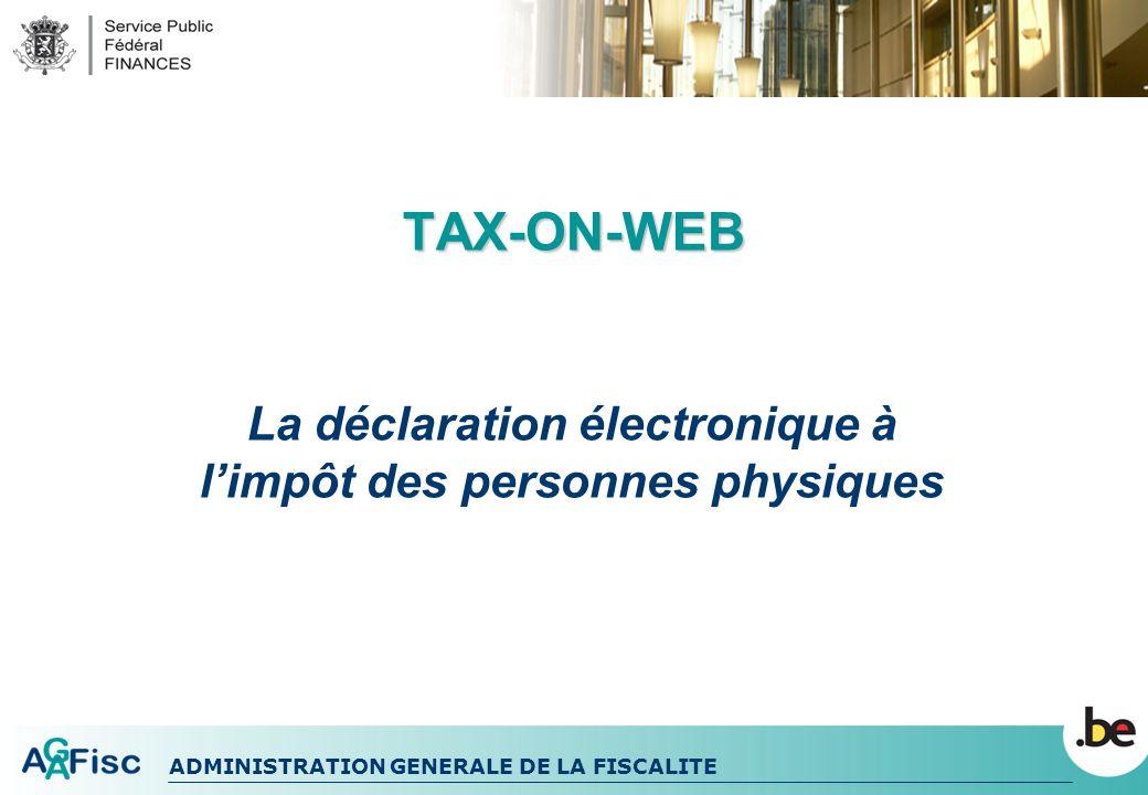 La déclaration électronique à l'impôt des personnes physiques