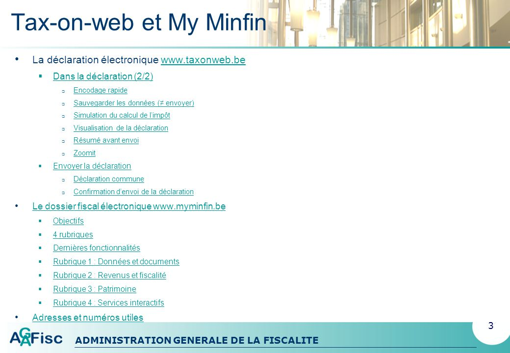 Tax-on-web et My Minfin
