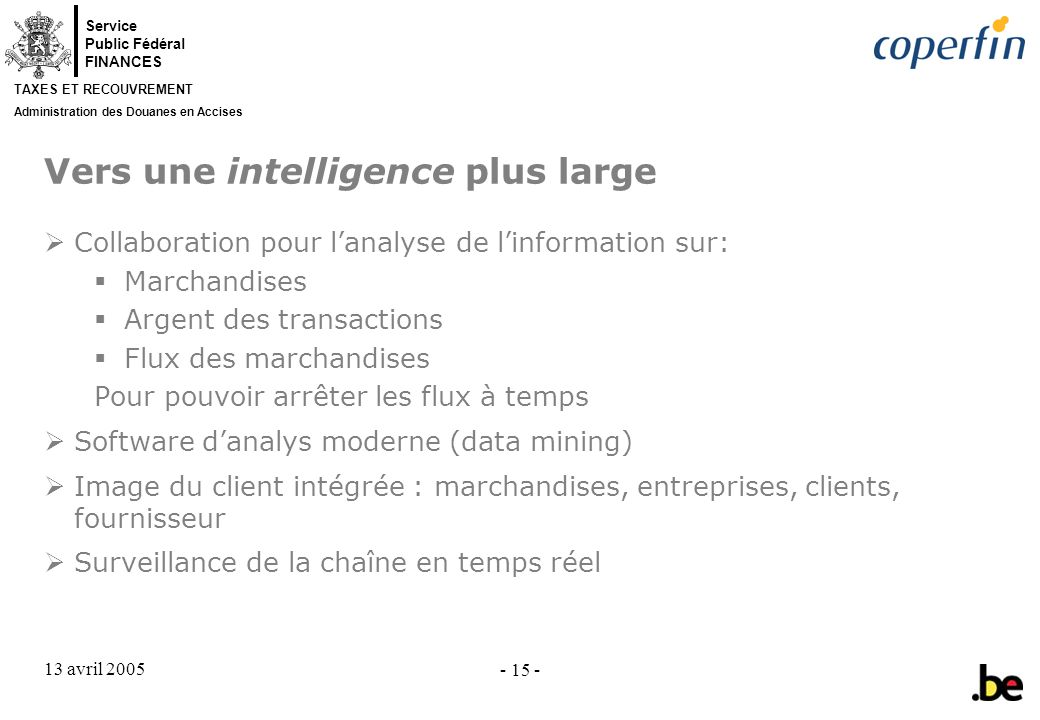 Vers une intelligence plus large