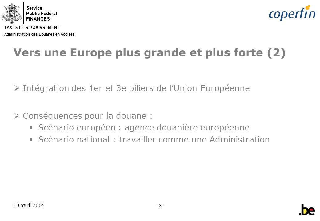 Vers une Europe plus grande et plus forte (2)