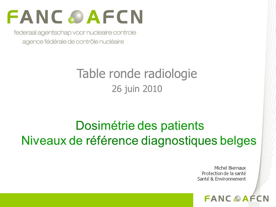 Table ronde radiologie