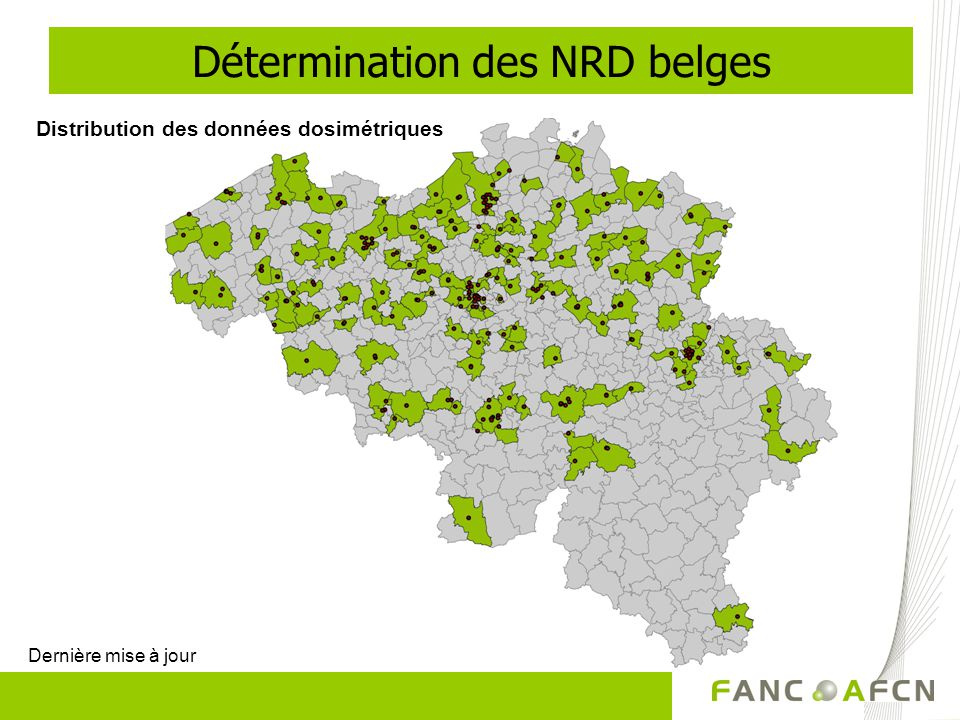Détermination des NRD belges