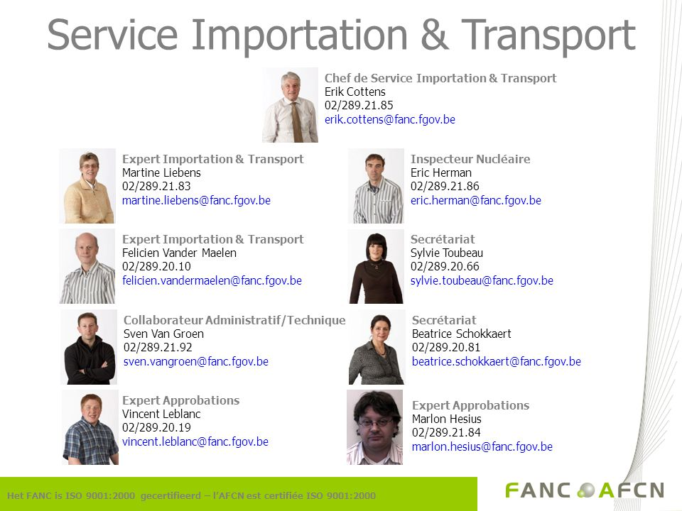 Service Importation & Transport