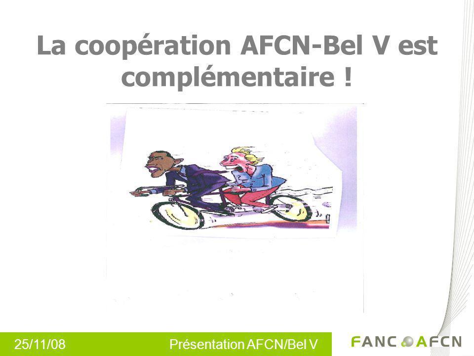 La coopération AFCN-Bel V est complémentaire !