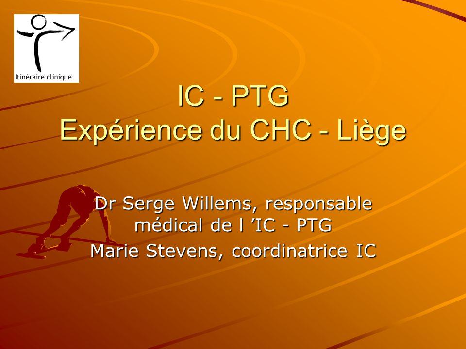 IC - PTG Expérience du CHC - Liège