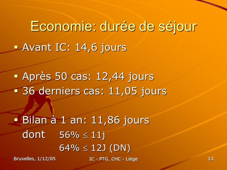 Economie: durée de séjour