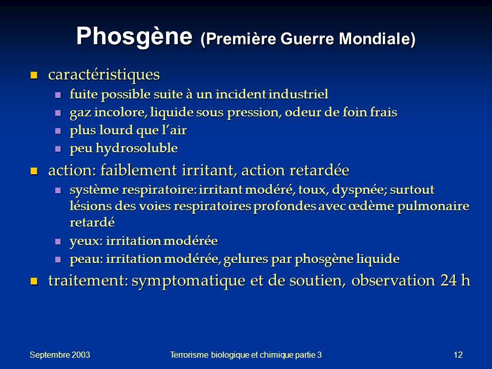 Phosgène (Première Guerre Mondiale)