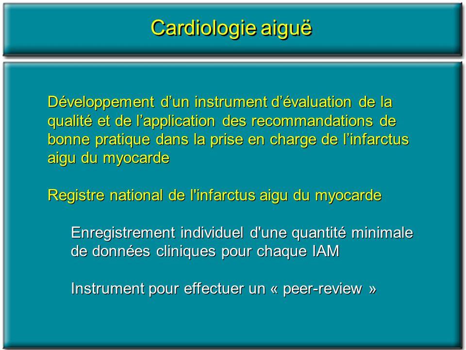Cardiologie aiguë
