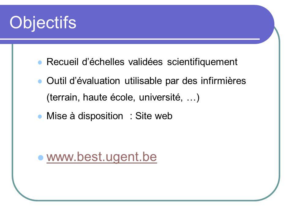 Objectifs www.best.ugent.be