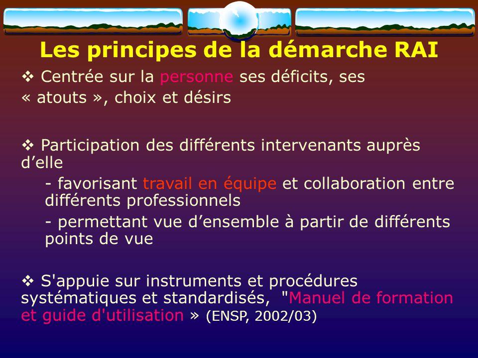 Les principes de la démarche RAI