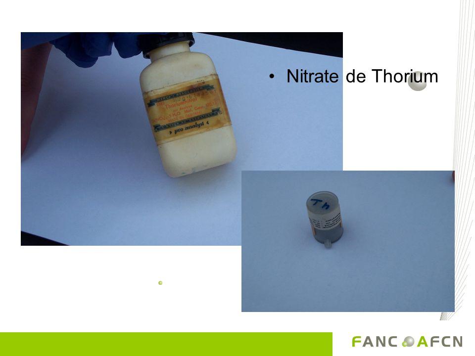 Nitrate de Thorium