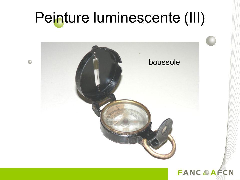 Peinture luminescente (III)