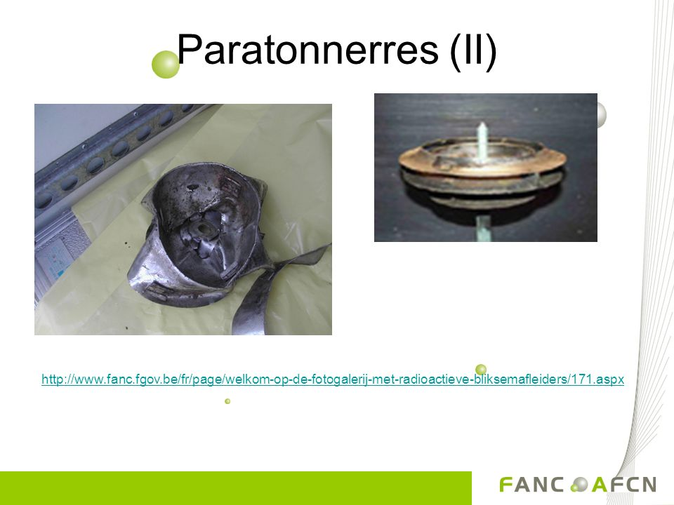 Paratonnerres (II) Différentes types.