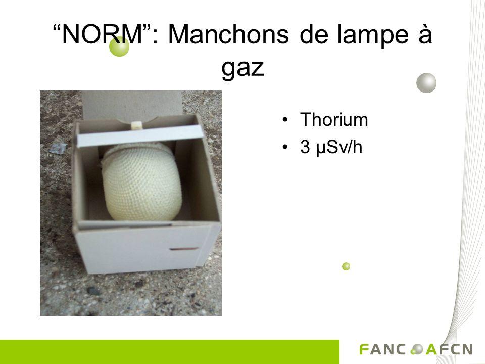 NORM : Manchons de lampe à gaz