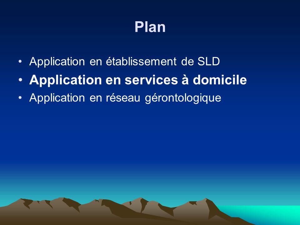Plan Application en services à domicile