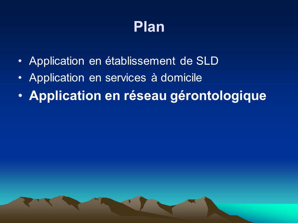 Plan Application en réseau gérontologique