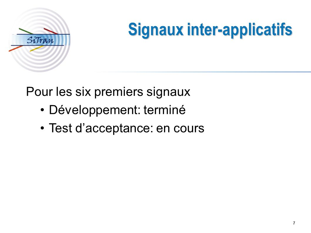 Signaux inter-applicatifs