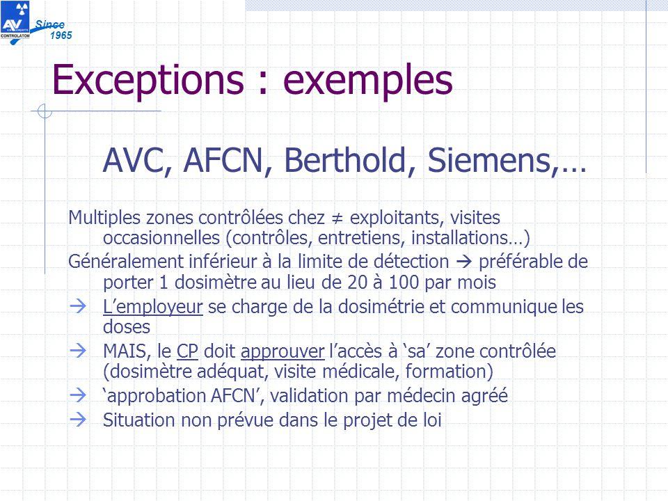 AVC, AFCN, Berthold, Siemens,…