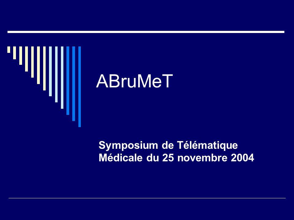 Symposium de Télématique Médicale du 25 novembre 2004