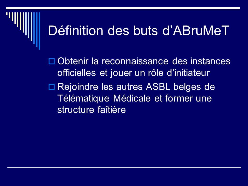 Définition des buts d'ABruMeT