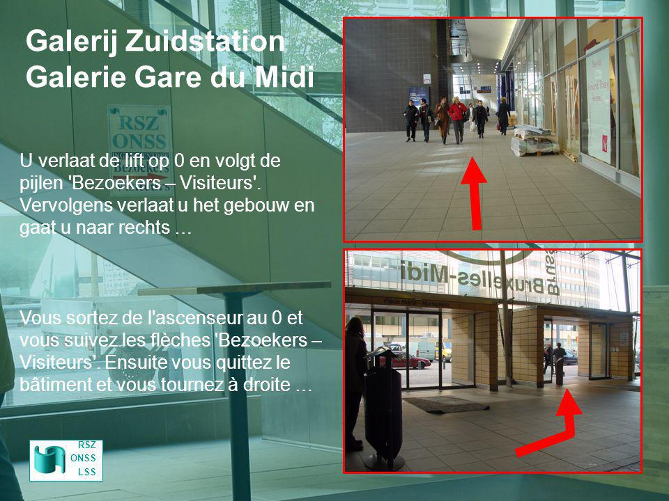 Galerij Zuidstation Galerie Gare du Midi