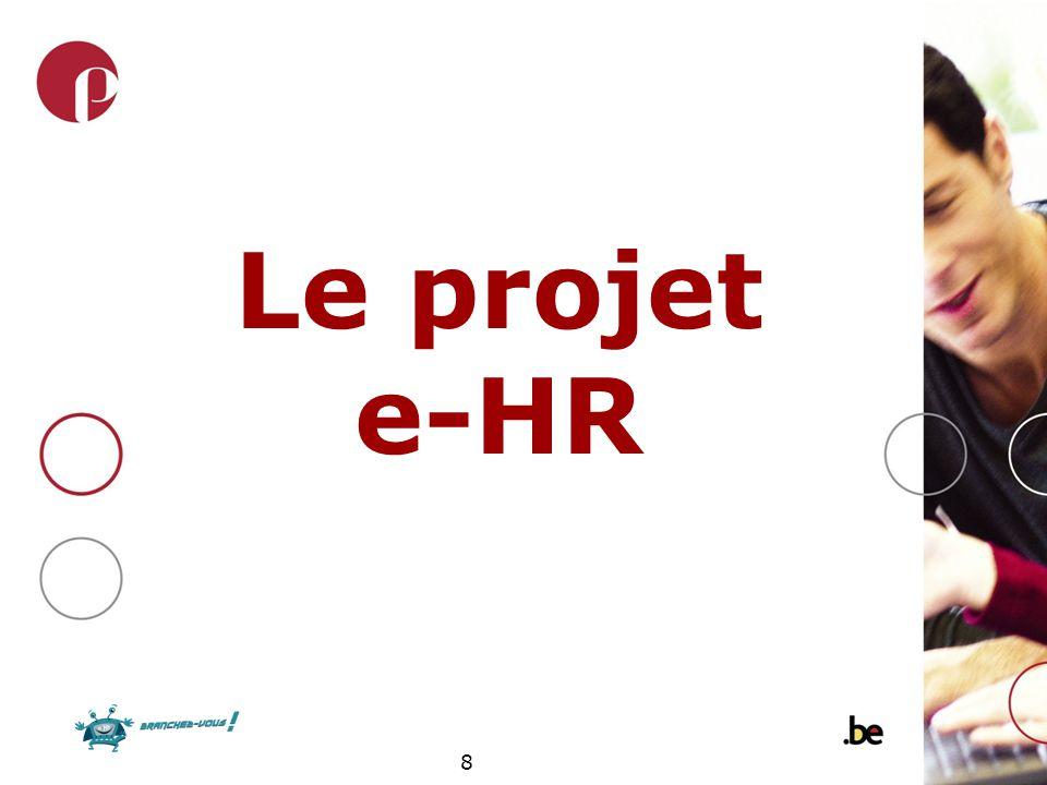 Le projet e-HR