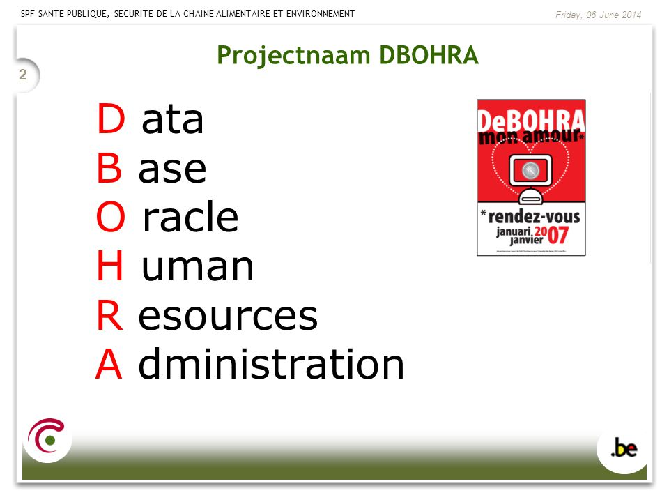 D ata B ase O racle H uman R esources A dministration