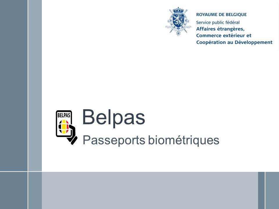 Passeports biométriques