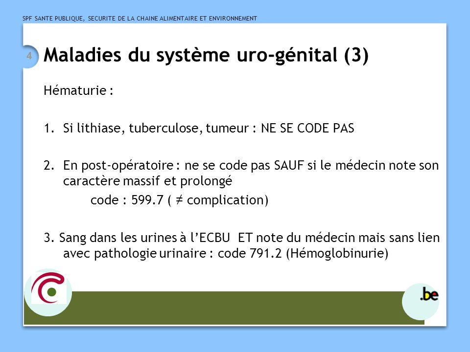 Maladies du système uro-génital (3)