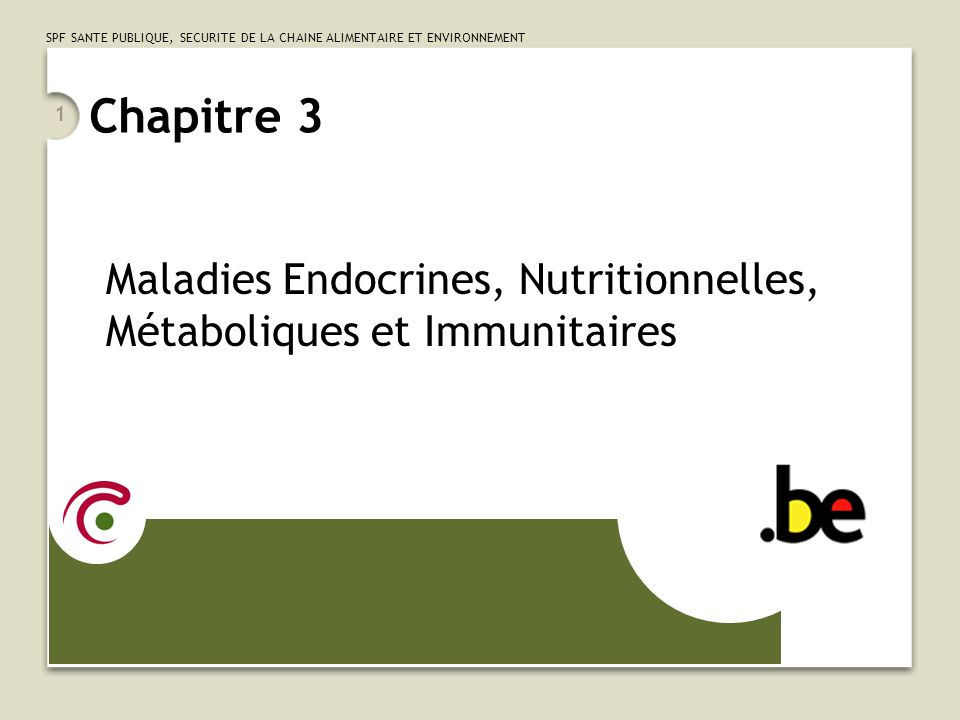 Maladies Endocrines, Nutritionnelles, Métaboliques et Immunitaires