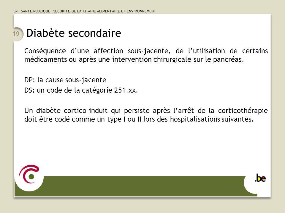 Diabète secondaire