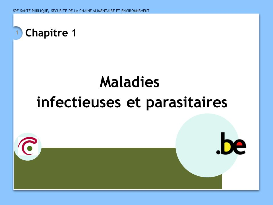 infectieuses et parasitaires