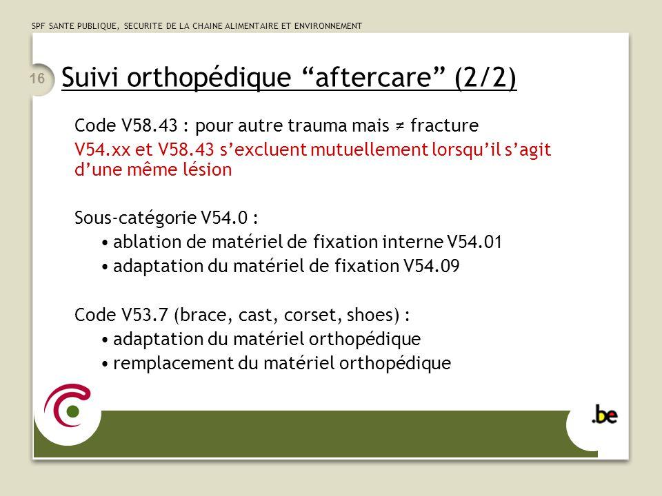 Suivi orthopédique aftercare (2/2)