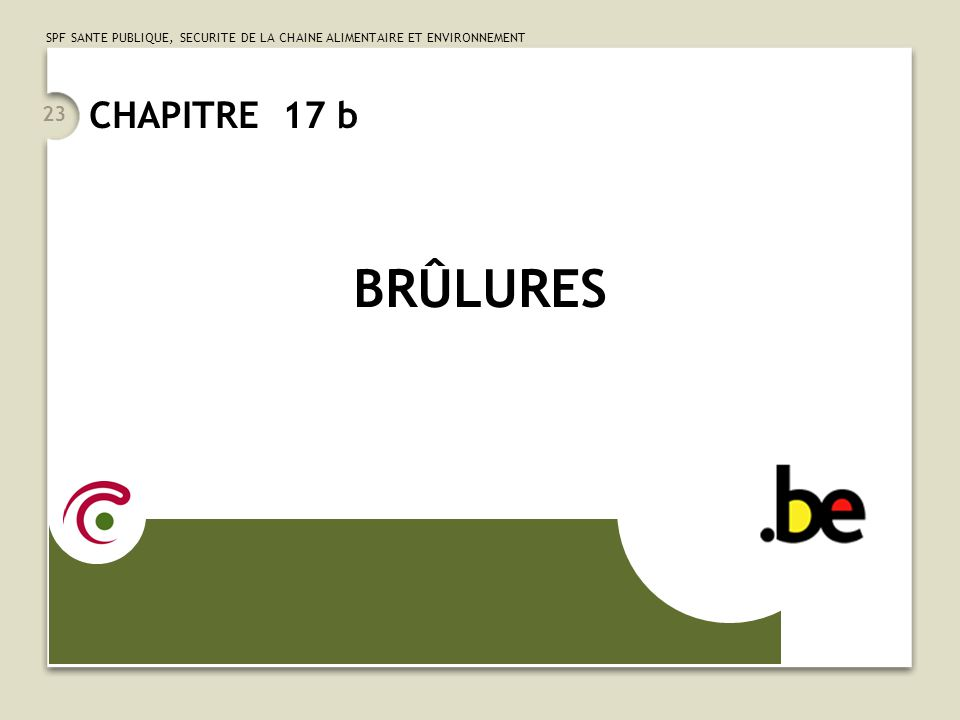 CHAPITRE 17 b BRÛLURES