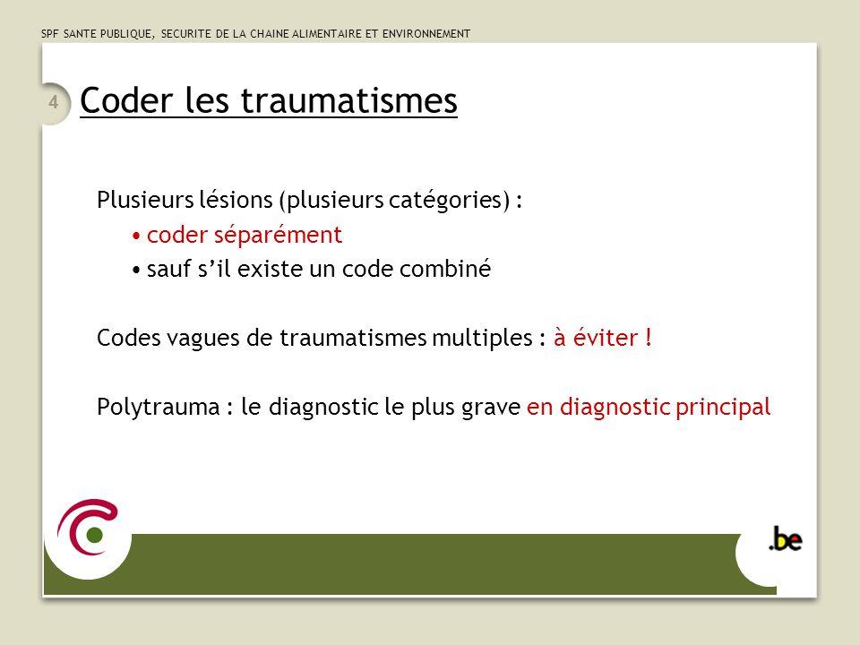 Coder les traumatismes