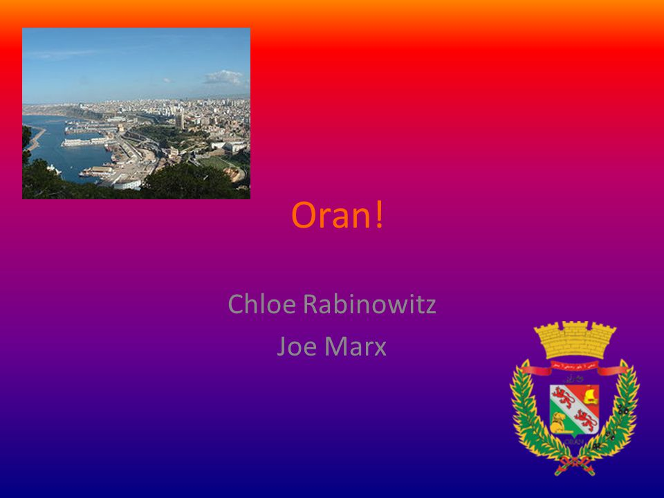 Chloe Rabinowitz Joe Marx