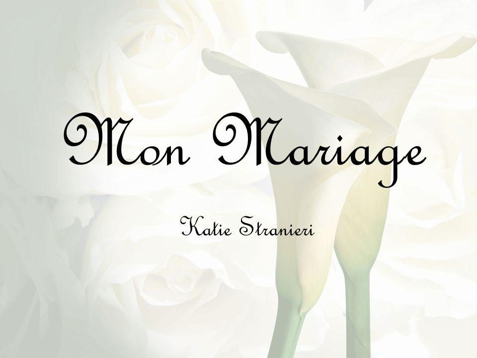 Mon Mariage Mon Mariage Katie Stranieri Katie Stranieri