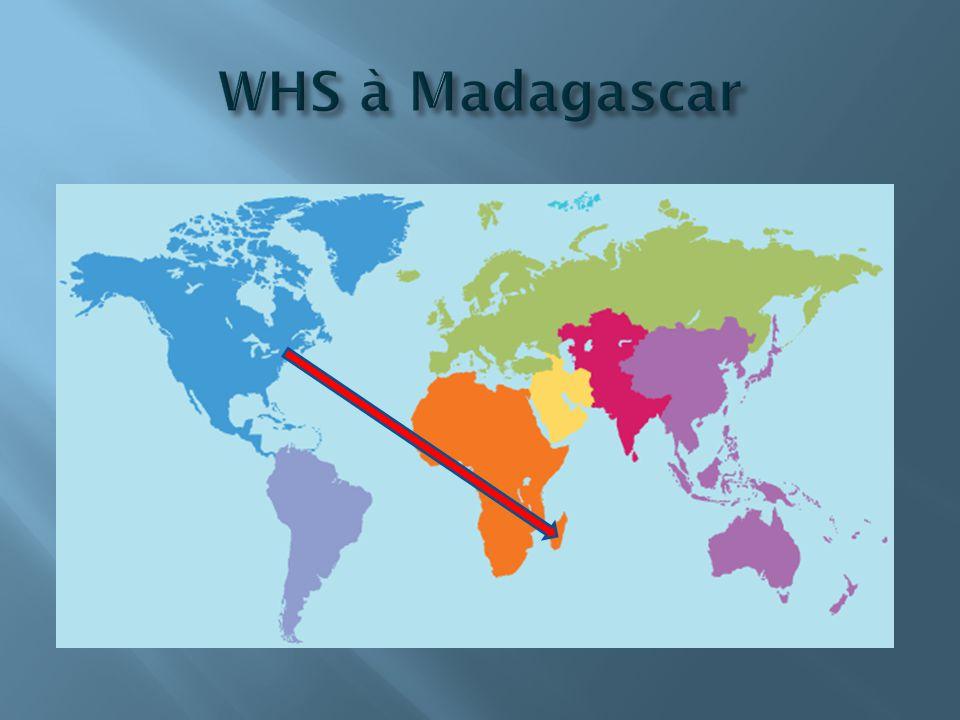WHS à Madagascar