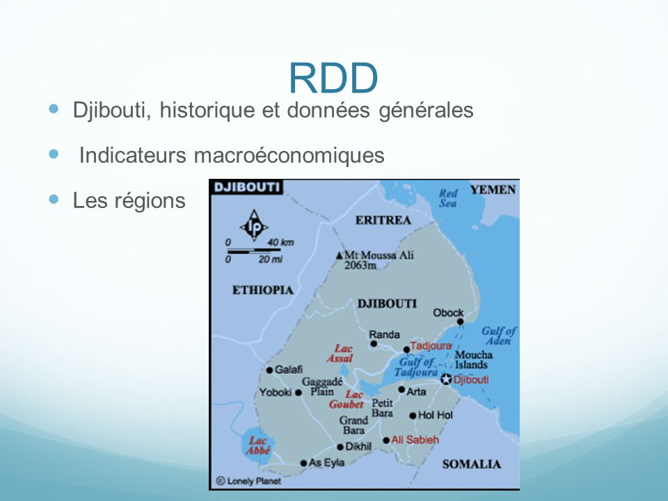 RDD Djibouti, historique et données générales