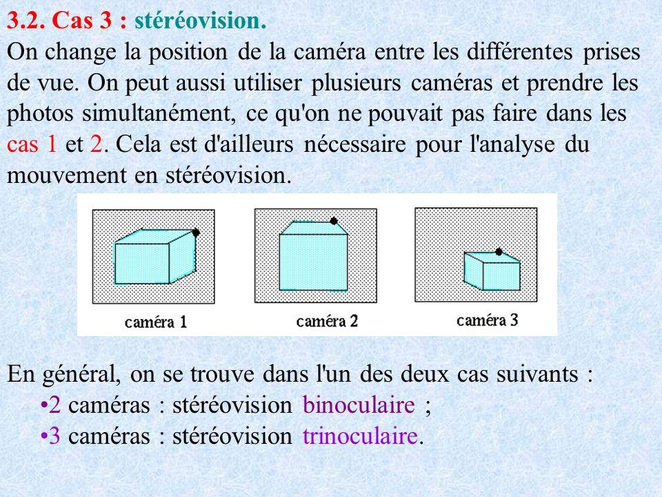 3.2. Cas 3 : stéréovision.