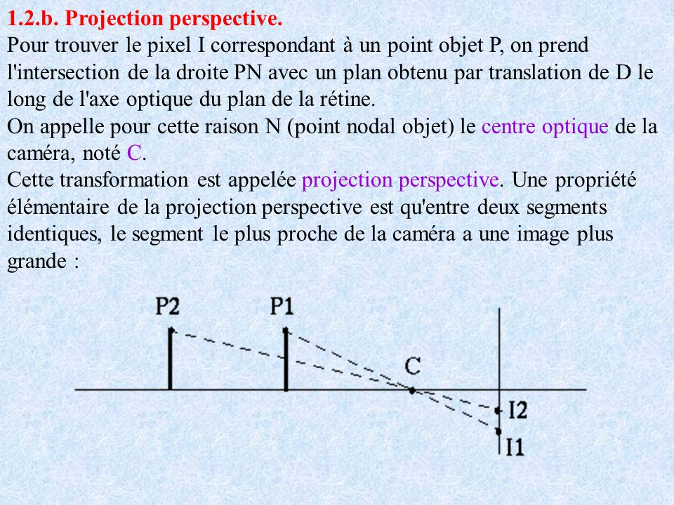 1.2.b. Projection perspective.