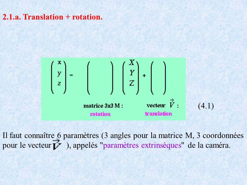 2.1.a. Translation + rotation.